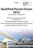 Qualified Person Forum 2015