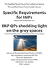 Specific Requirements for IMPs - Pre-Conference Session of the Qualified Person Forum 2016